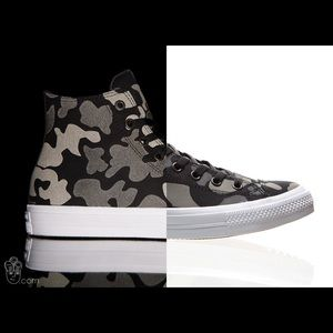 converse camo sneakers